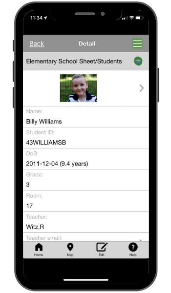 Elementry school app template